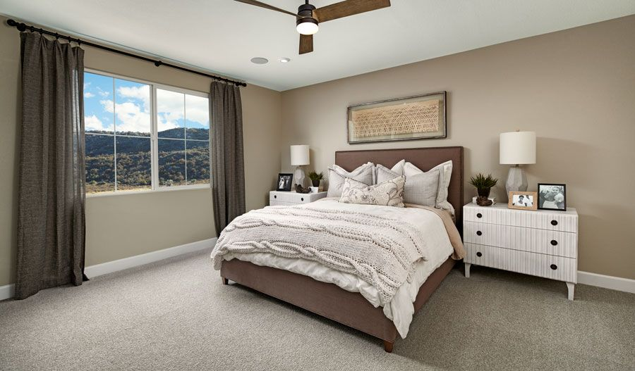 Bedroom featured in the Paulson By Richmond American Homes in Vallejo-Napa, CA