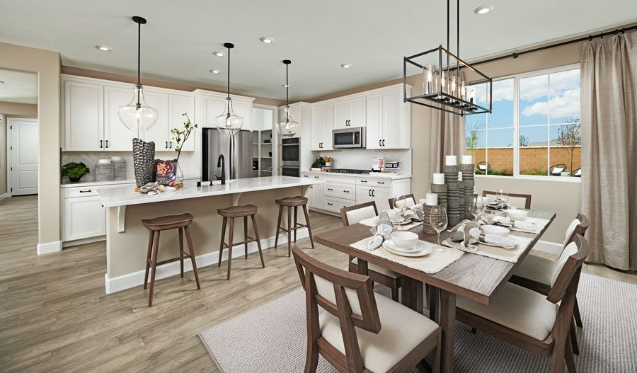 Kitchen featured in the Paulson By Richmond American Homes in Vallejo-Napa, CA