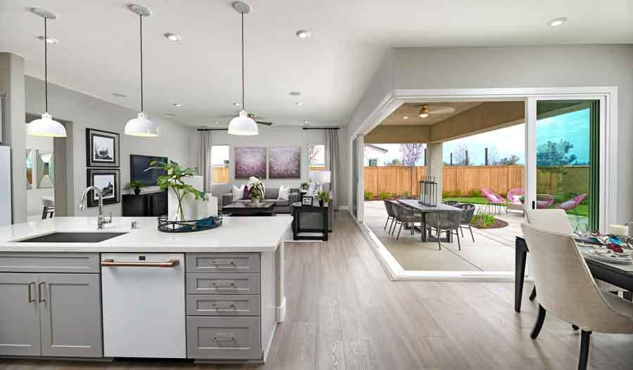 Kitchen featured in the Darius By Richmond American Homes in Vallejo-Napa, CA