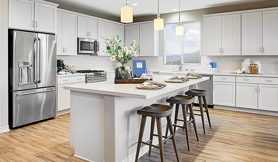 Kitchen featured in the Paige By Richmond American Homes in Vallejo-Napa, CA