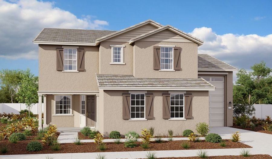 Exterior featured in the Pearce By Richmond American Homes in Vallejo-Napa, CA