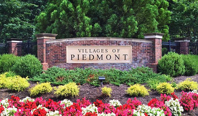 VIR-VillagesOfPiedmont-Monument:The Villages of Piedmont at Leopold's Preserve - Entrance