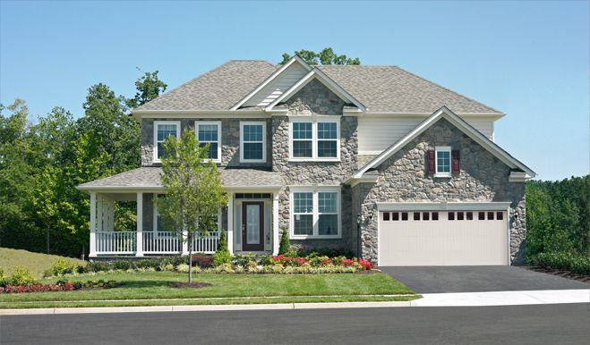New construction homes and floor plans in winchester va for Virginia house plans