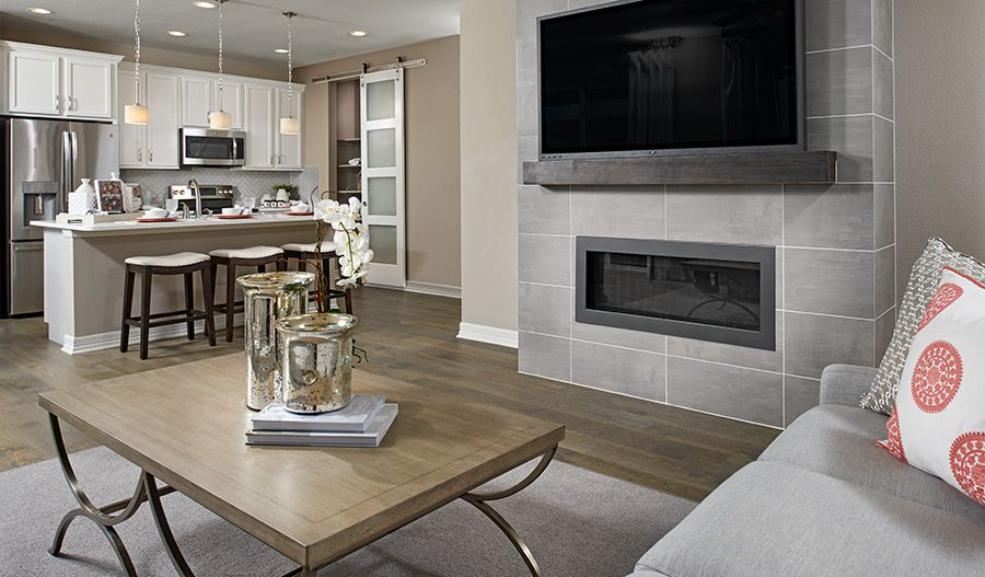 Living Area featured in the Coral By Richmond American Homes in Seattle-Bellevue, WA