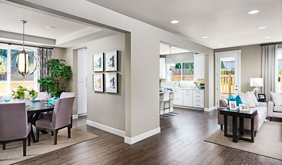 Living Area featured in the Jefferson By Richmond American Homes in Tacoma, WA