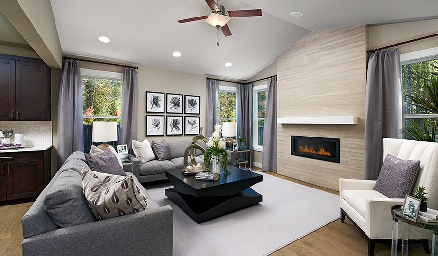 Living Area featured in the Daley By Richmond American Homes in Tacoma, WA