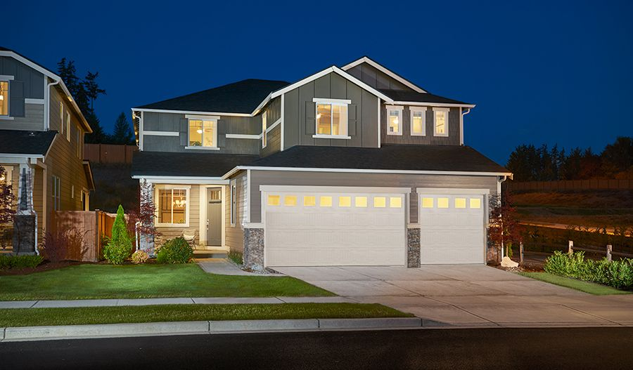Exterior featured in the Seth By Richmond American Homes in Tacoma, WA