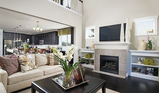 Living Area featured in the Ivy By Richmond American Homes in Tacoma, WA