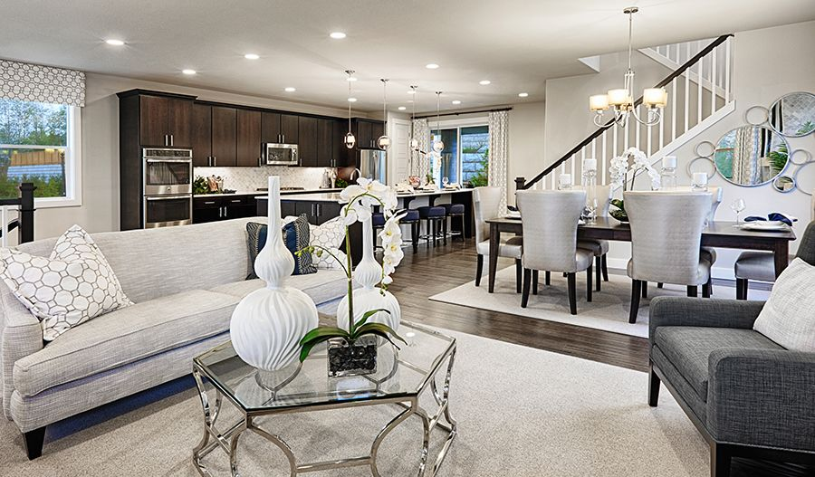Living Area featured in the Lincoln By Richmond American Homes in Tacoma, WA