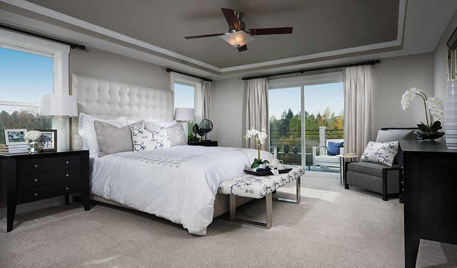 Bedroom featured in the Lincoln By Richmond American Homes in Tacoma, WA