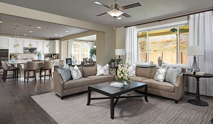 Living Area featured in the Seth By Richmond American Homes in Tacoma, WA