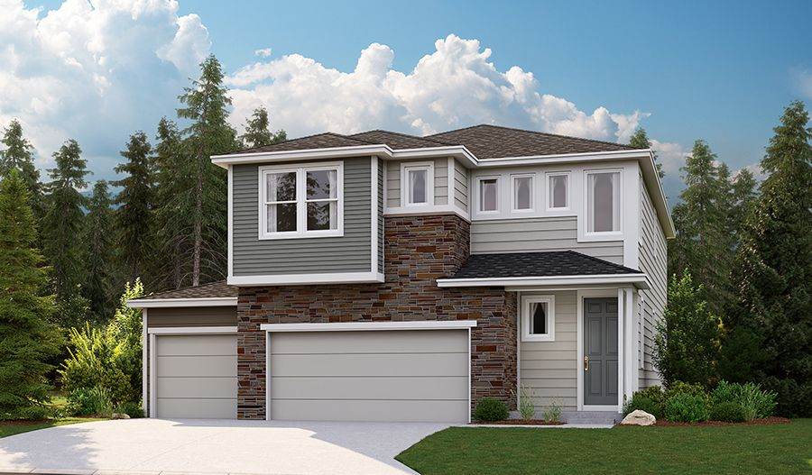 Exterior featured in the Lori By Richmond American Homes in Bremerton, WA