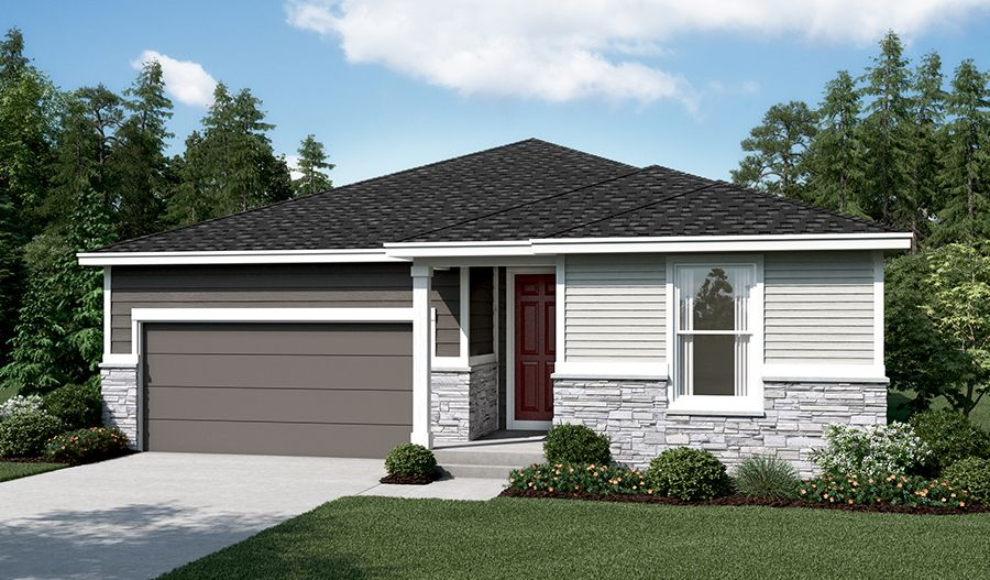Exterior featured in the Amethyst By Richmond American Homes in Bremerton, WA