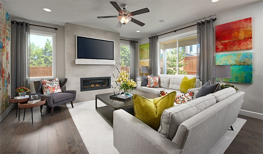 Living Area featured in the Lowell By Richmond American Homes in Tacoma, WA