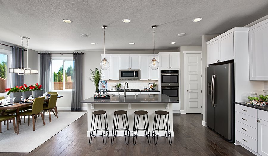 Kitchen featured in the Lowell By Richmond American Homes in Tacoma, WA