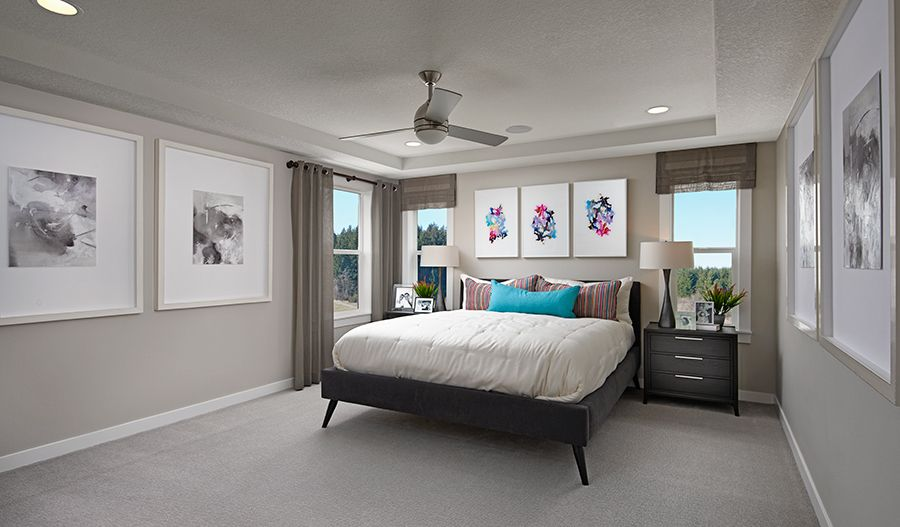 Bedroom featured in the Coronado By Richmond American Homes in Tacoma, WA