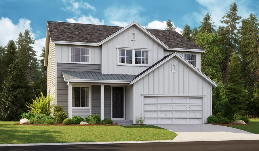 Exterior featured in the Hemingway By Richmond American Homes in Tacoma, WA