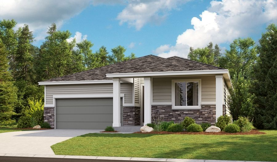 Exterior featured in the Arlington By Richmond American Homes in Tacoma, WA