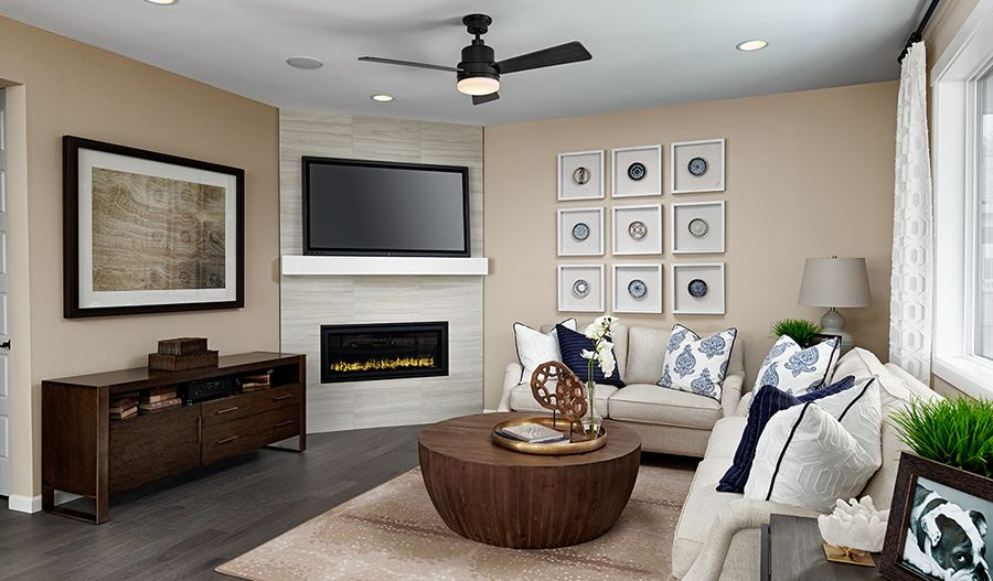 Living Area featured in the Lapis By Richmond American Homes in Seattle-Bellevue, WA