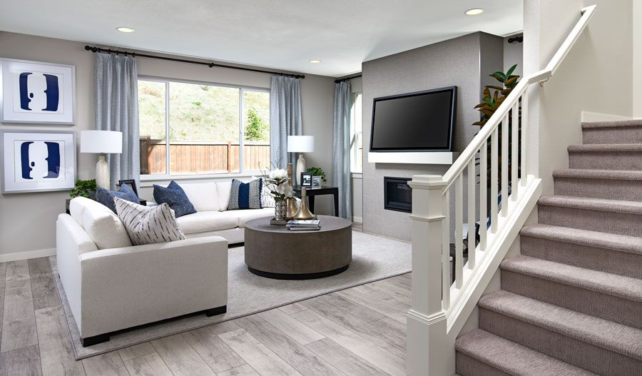 Living Area featured in the Hemingway By Richmond American Homes in Tacoma, WA