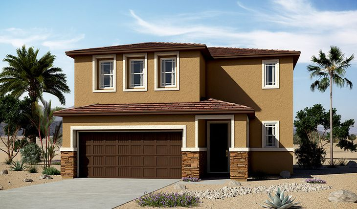 Coral-L903-Moonstone Elevation C:The Coral-Elevation C