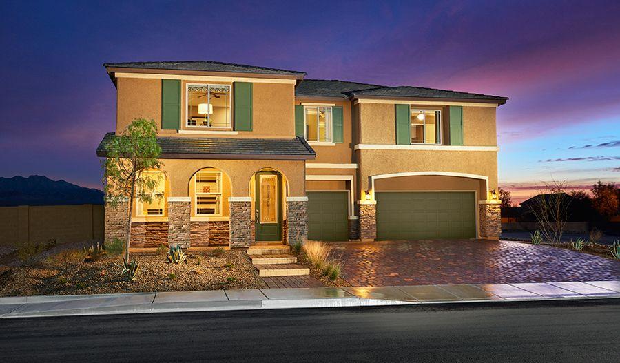 Granite Falls In Las Vegas Nv New Homes Amp Floor Plans By