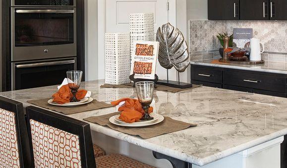 Standard series 3 - Alexa-Kit-white-silver-orange:Kitchen