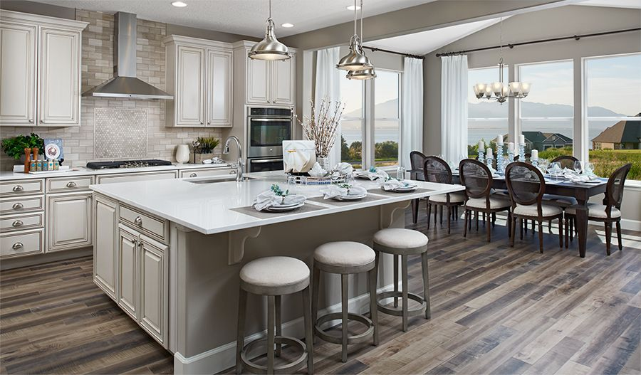 Kitchen featured in the Helena II By Richmond American Homes in Salt Lake City-Ogden, UT