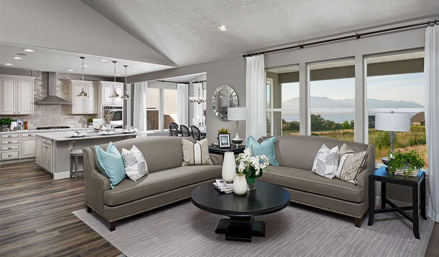 Living Area featured in the Helena By Richmond American Homes in Provo-Orem, UT