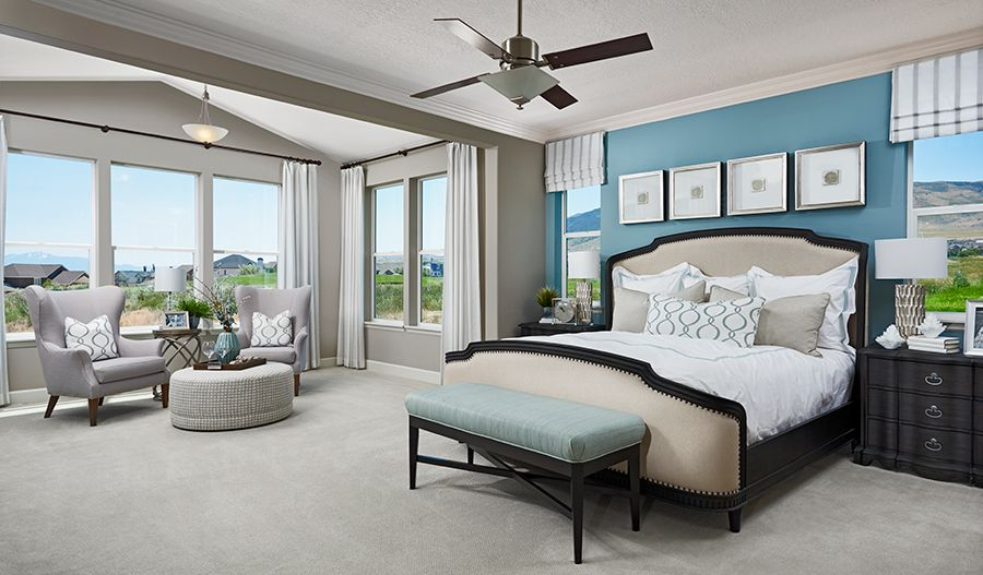 Bedroom featured in the Helena By Richmond American Homes in Provo-Orem, UT