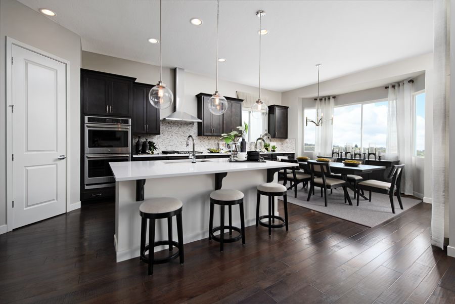Kitchen featured in the Delaney By Richmond American Homes in Salt Lake City-Ogden, UT