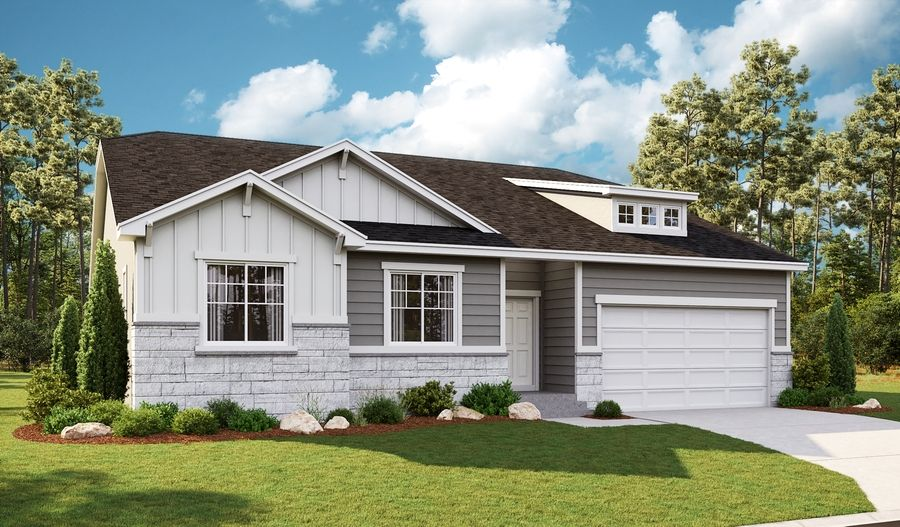 Exterior featured in the Delaney By Richmond American Homes in Salt Lake City-Ogden, UT