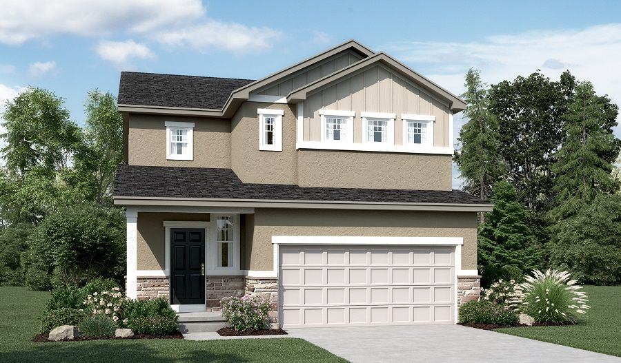 Exterior featured in the Leah By Richmond American Homes in Salt Lake City-Ogden, UT