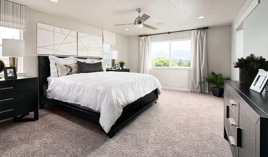 Bedroom featured in the Moonstone By Richmond American Homes in Salt Lake City-Ogden, UT