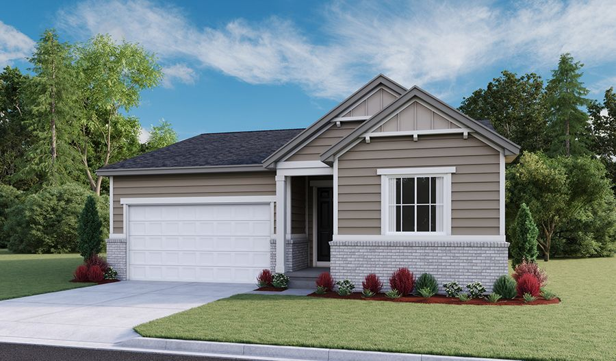 Exterior featured in the Amethyst By Richmond American Homes in Salt Lake City-Ogden, UT