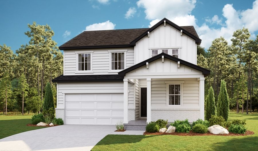 Exterior featured in the Pearl By Richmond American Homes in Salt Lake City-Ogden, UT