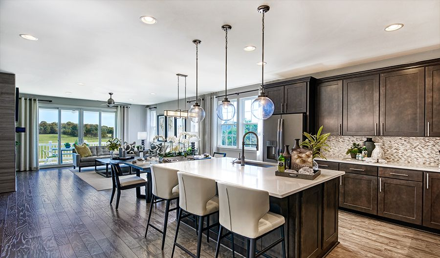 Kitchen featured in the Arlington By Richmond American Homes in Provo-Orem, UT