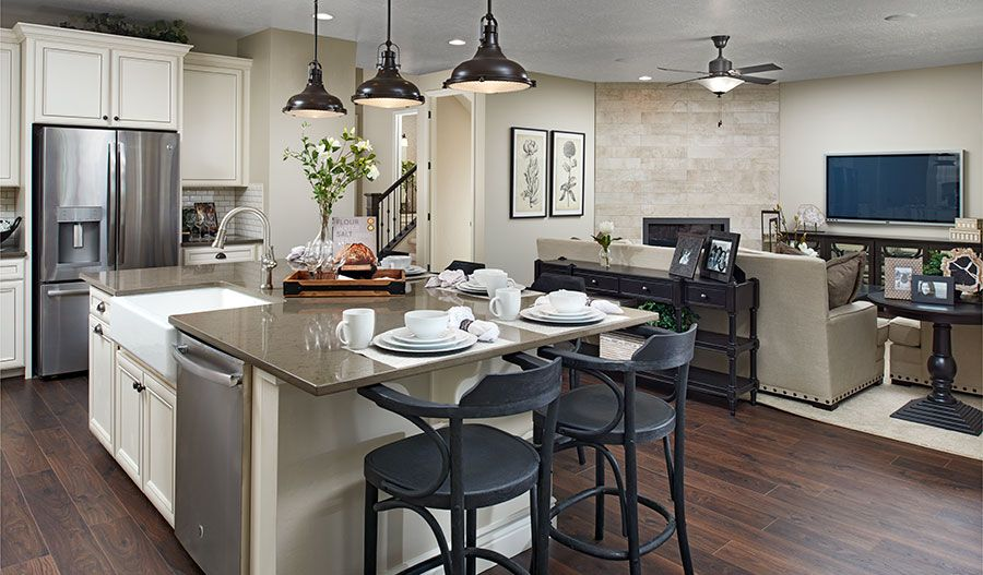 Kitchen featured in the Coronado By Richmond American Homes in Provo-Orem, UT