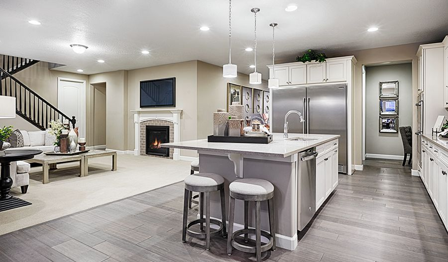 Living Area featured in the Hopewell By Richmond American Homes in Salt Lake City-Ogden, UT