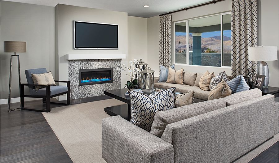 Living Area featured in the Yorktown By Richmond American Homes in Salt Lake City-Ogden, UT