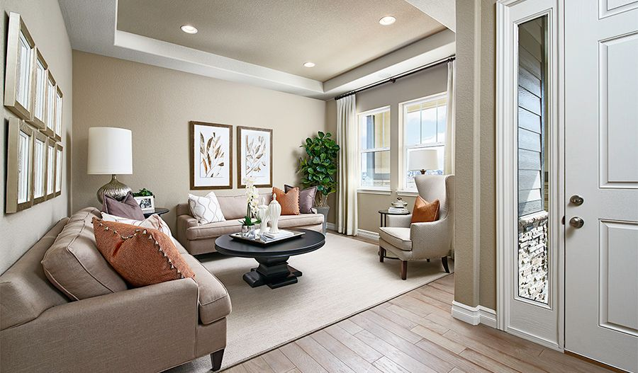 Living Area featured in the Dearborn By Richmond American Homes in Provo-Orem, UT