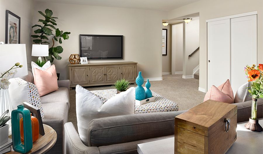 Living Area featured in the Daniel II By Richmond American Homes in Provo-Orem, UT