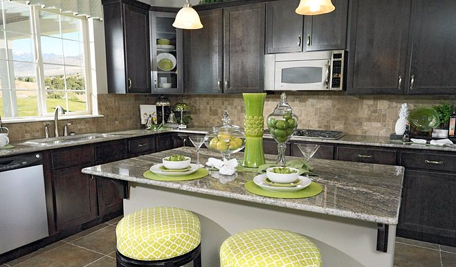 Kitchen featured in the Daniela By Richmond American Homes in Provo-Orem, UT
