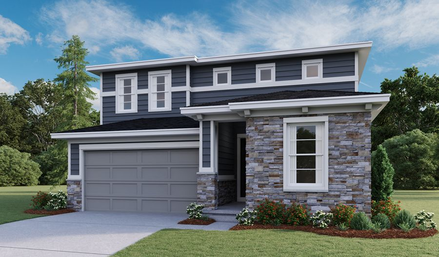 Exterior featured in the Citrine By Richmond American Homes in Salt Lake City-Ogden, UT