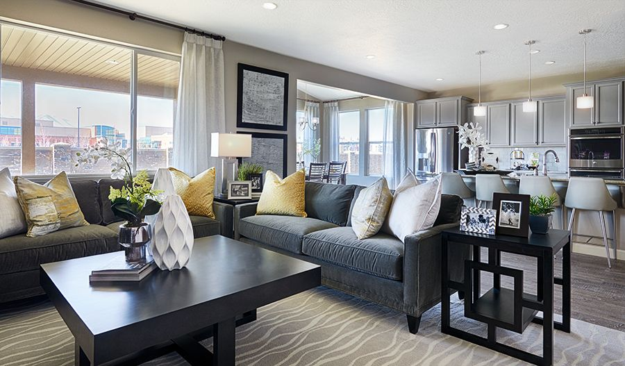 Living Area featured in the Coronado By Richmond American Homes in Salt Lake City-Ogden, UT