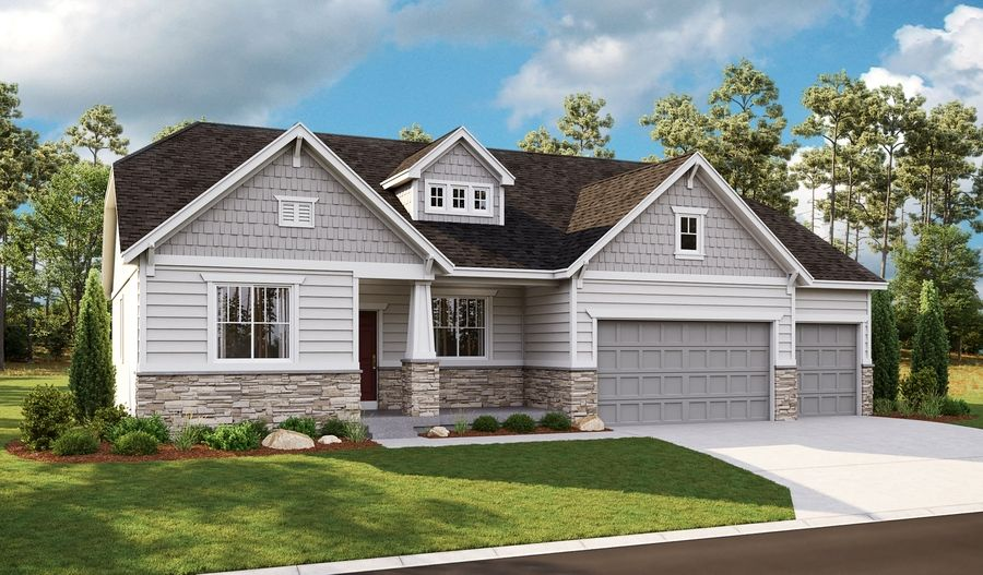 Exterior featured in the Helena II By Richmond American Homes in Provo-Orem, UT