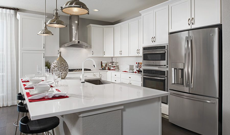 Kitchen featured in the Greenwich By Richmond American Homes in Provo-Orem, UT