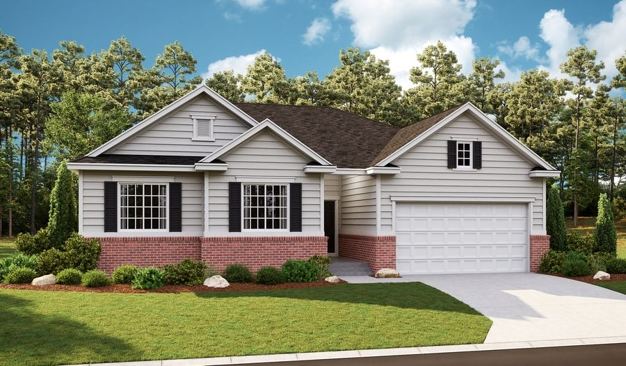 Exterior featured in the Daniel II By Richmond American Homes in Provo-Orem, UT
