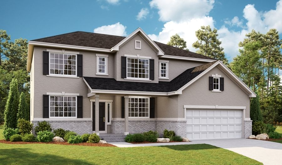 Exterior featured in the Daniela By Richmond American Homes in Provo-Orem, UT