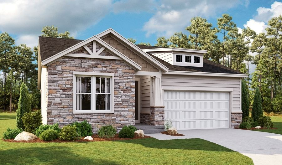 Exterior featured in the Annette By Richmond American Homes in Salt Lake City-Ogden, UT
